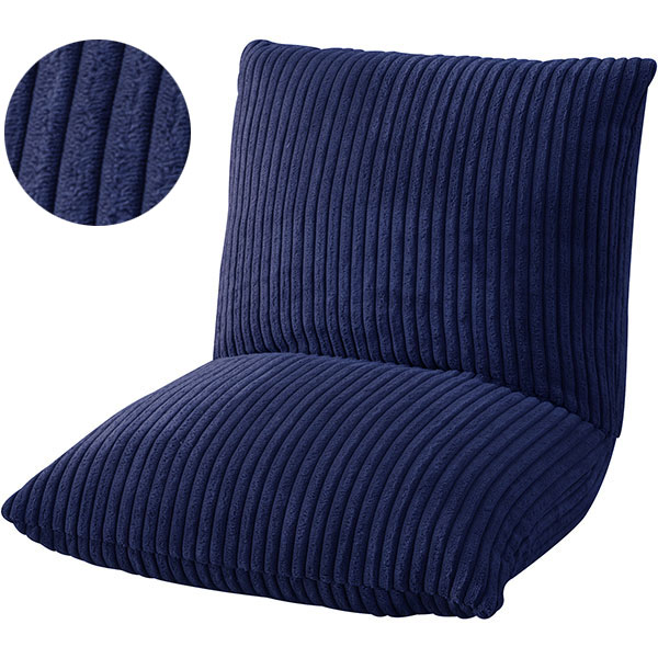 コンパクトでボリューミーなクッションチェア 座椅子