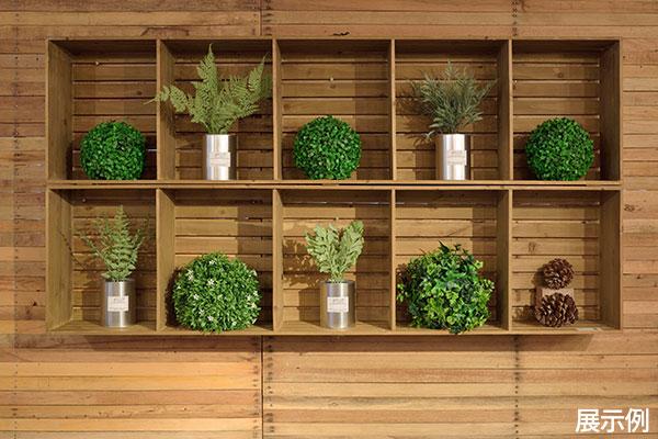 グリーンボールセット 直径28~33cm 人工樹木 造花 フェイク