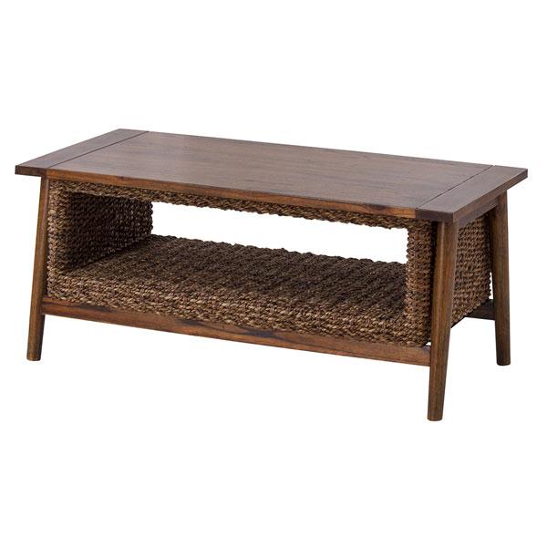 アバカ素材のアジアンリゾート センターテーブル 125-13107|詳細画像