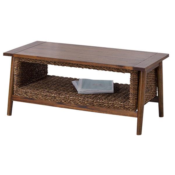 アバカ素材のアジアンリゾート センターテーブル