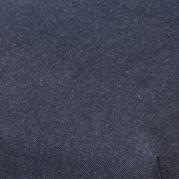 脚付きリクライニング座椅子 ファブリック生地/デニム生地