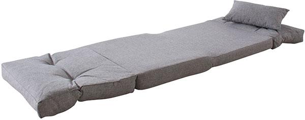 ベッドにもなる本当に使い勝手のいい1人掛けフロアソファ