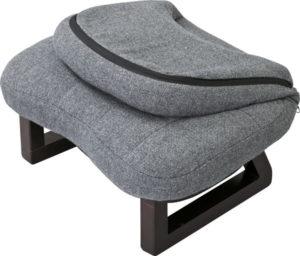 正座椅子・あぐら椅子としても使える。背もたれ付き座椅子 125-16126|詳細画像