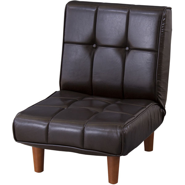 選べるデニム生地/ソフトレザー生地。コスパの良いフロアソファ 座椅子