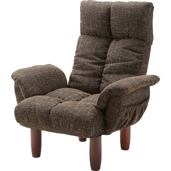 自分だけのリラックス時間を。リクライニング機能付き高座椅子 安楽椅子