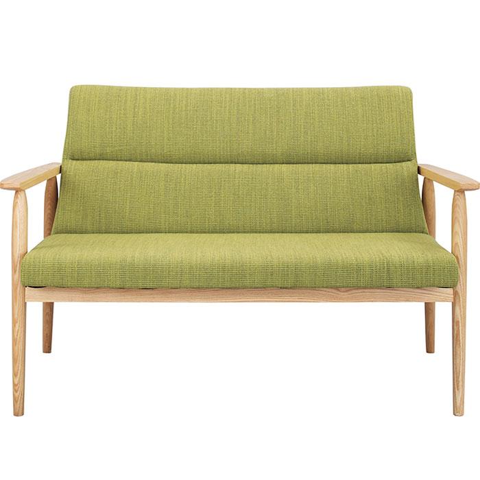 北欧スタイリッシュデザインが人気の2人掛けソファ