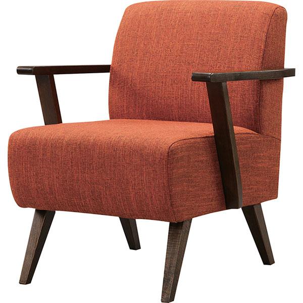 北欧デザインがおしゃれなカフェ風1人掛けソファ