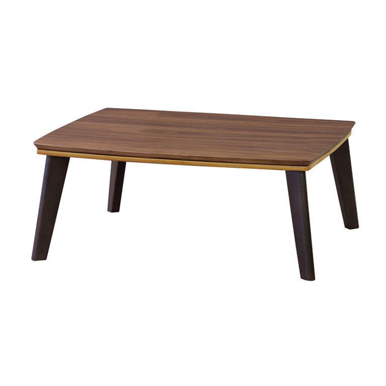 カフェテーブルこたつ モダンデザイン 105×75cm / 90×60cm / 75×75cm 北欧調