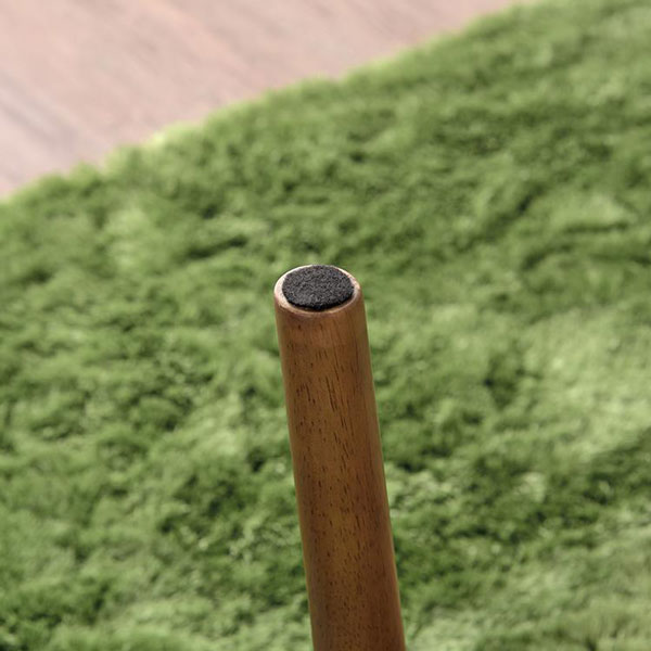脚が折りたためるリビングコタツ 北欧デザイン ライトブラウン 90×50cm