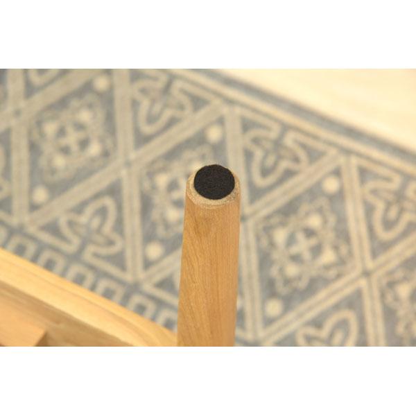天然木アッシュ材を使用した2人掛けソファ 155-12111|詳細画像